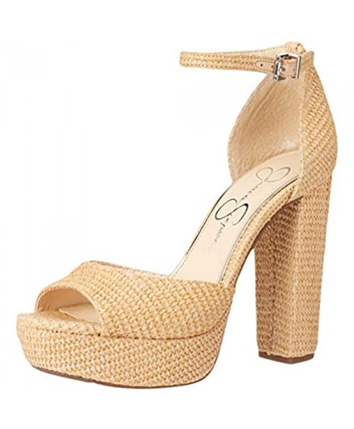 Jessica Simpson Women's Pisila Platform Sandal Heeled