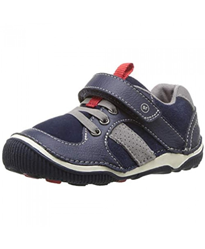 Stride Rite Baby-Boy's SRT Wes Casual Sneaker Navy 6 XW US Toddler