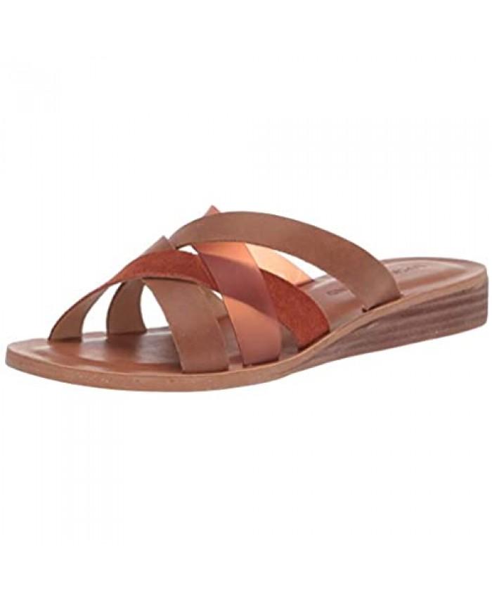 Lucky Brand Women's Hallisa Flat Sandal