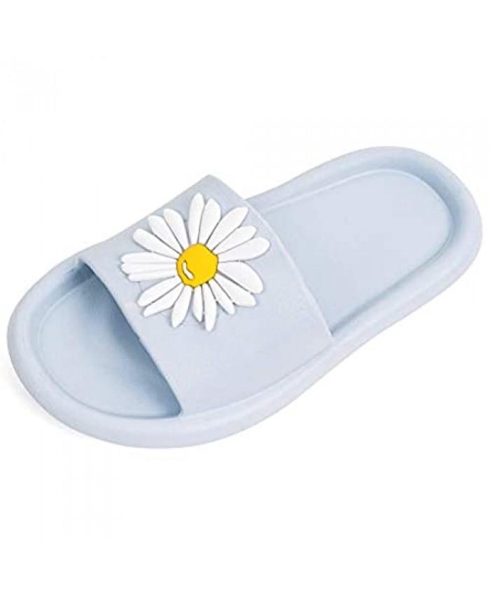 Colgo Kids Summer Slide Sandals Lightweight Boys Girls Beach Pool Shower Slippers Cute Water Shoes