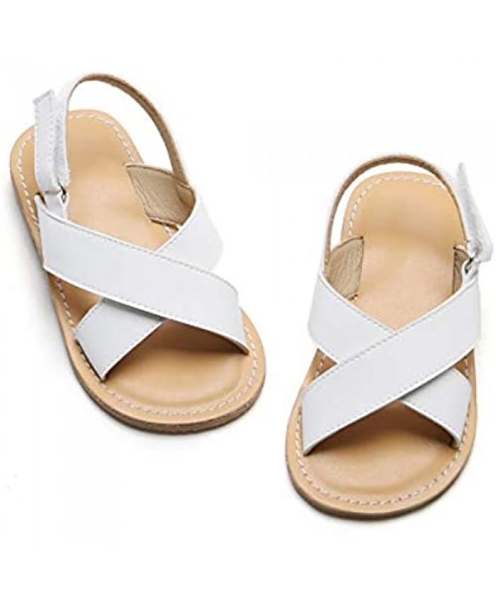Girls Sandals Open Toe Summer Wedding School (Toddler/Little Kid/Big Kid)