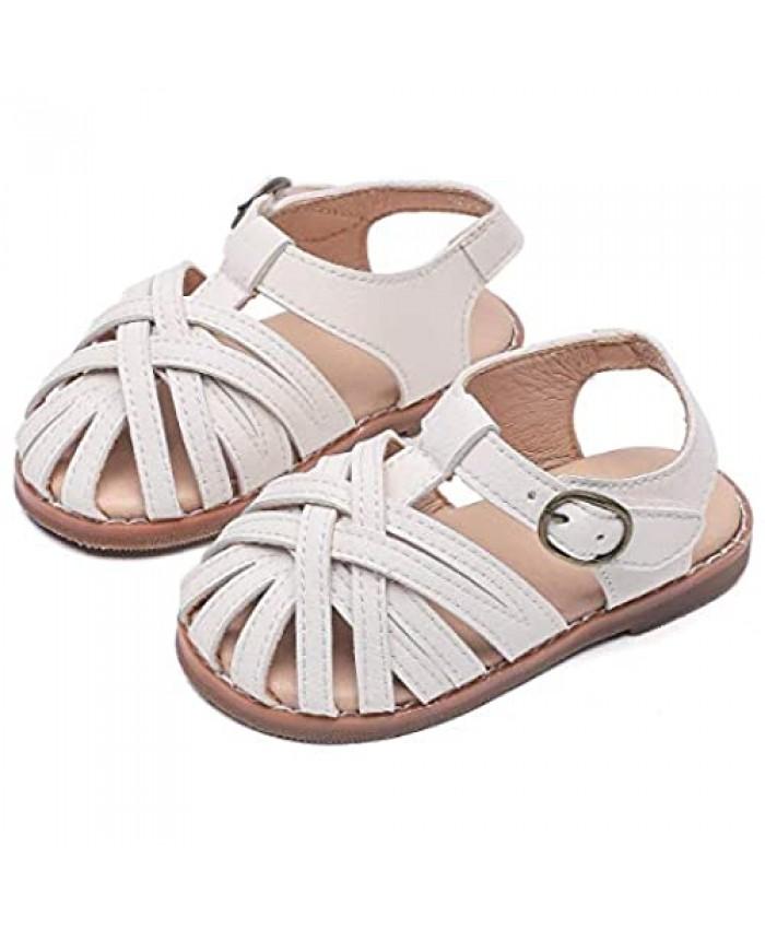 Little/Big Girl Dress Sandal Flat Shoes for Toddler