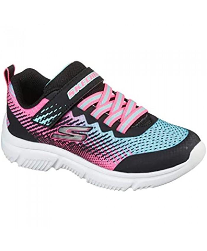 Skechers girls Go Run 650 Sneaker Black/Multi 2 Little Kid US